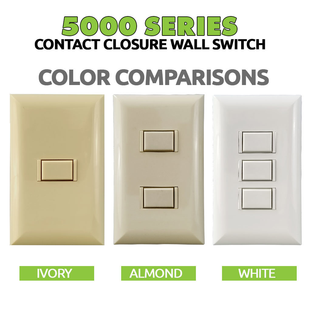 5000 Series Switch | Color Choices