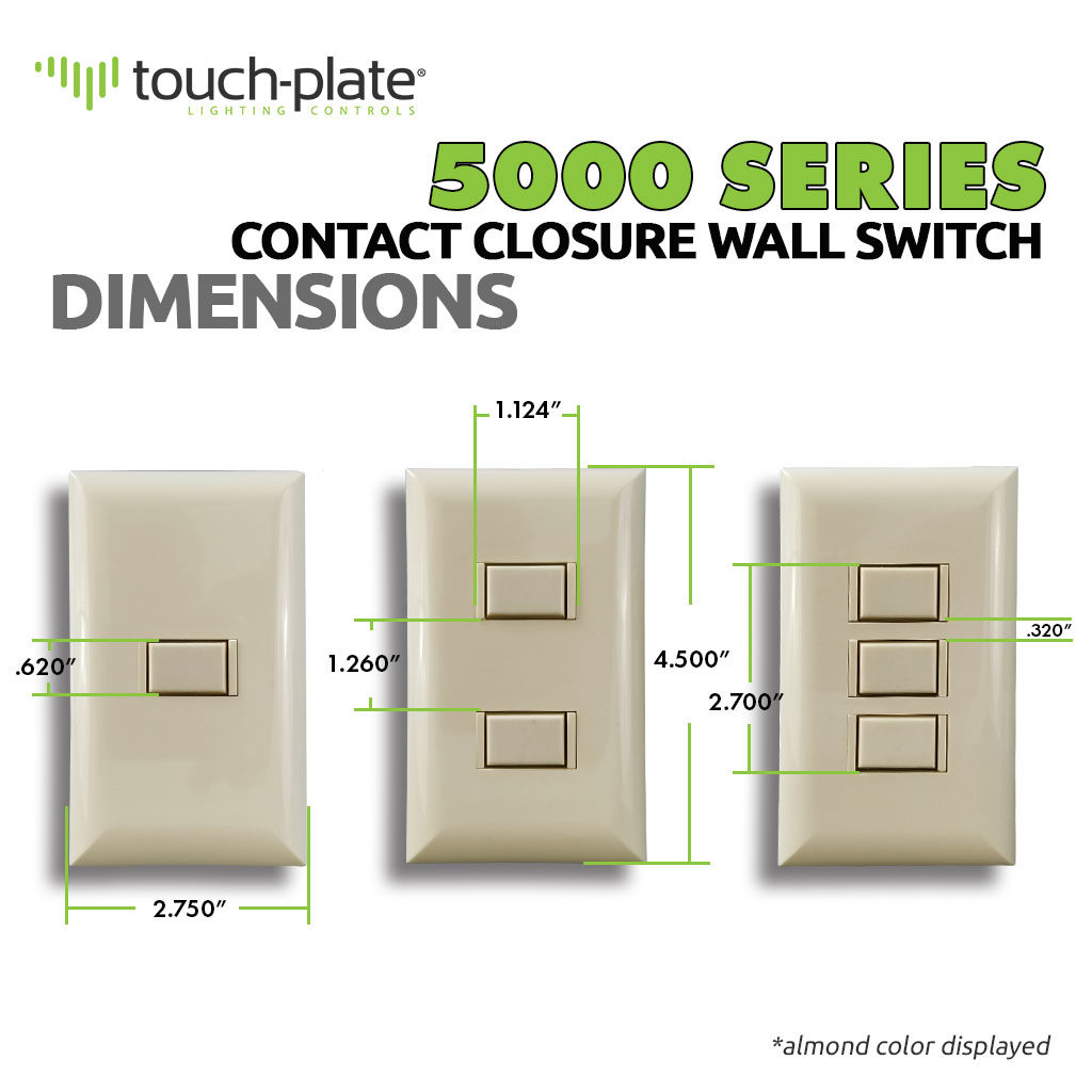 5000 Series Switch | Dimensions