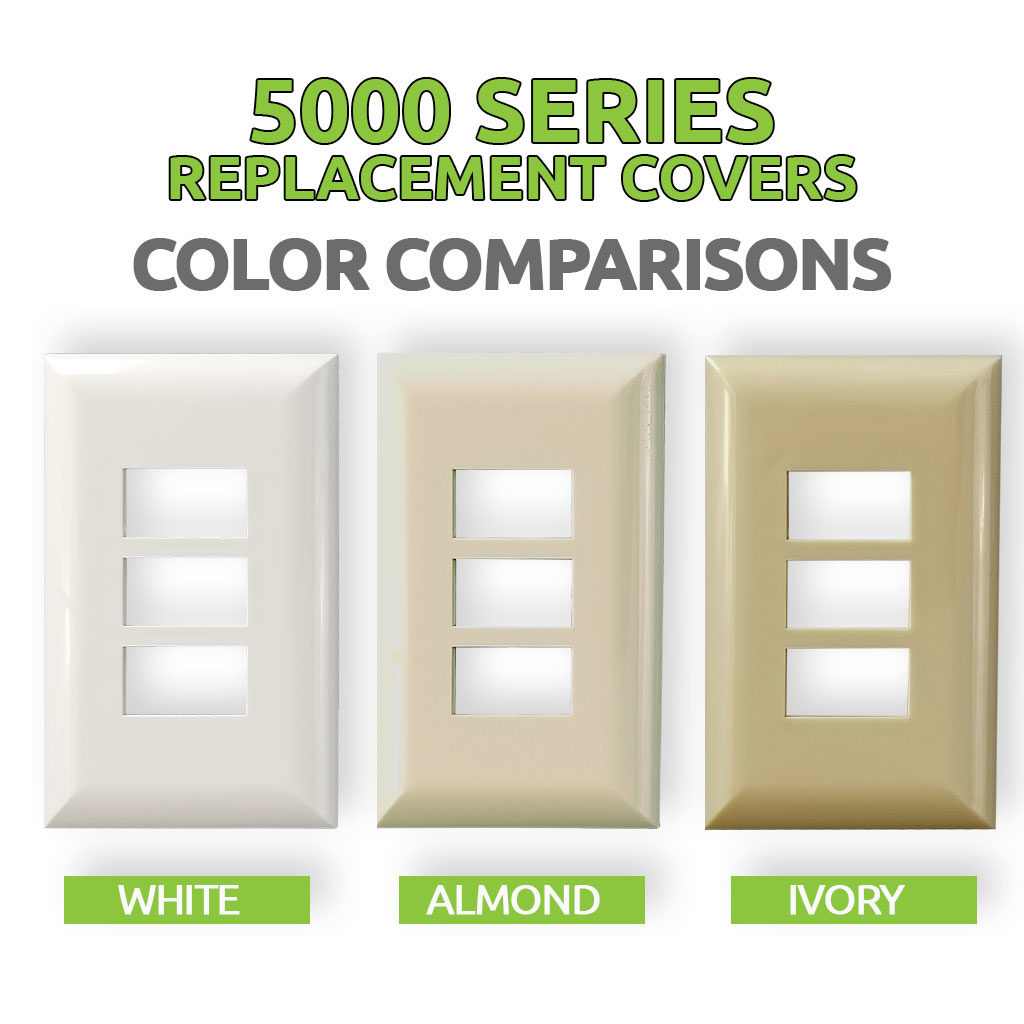5000 Series Replacement Covers | Color Comparisons