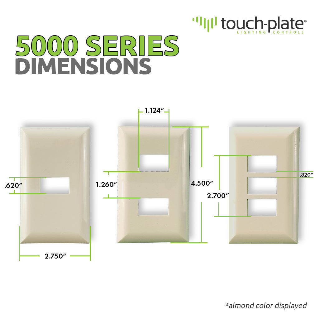 5000 Series Replacement Covers | Product Dimensions