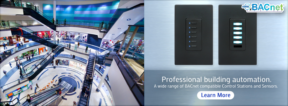 BACnet Professional building automation. We have a wide range of BACnet compatible Control Stations and Sensors. Click here to learn more.