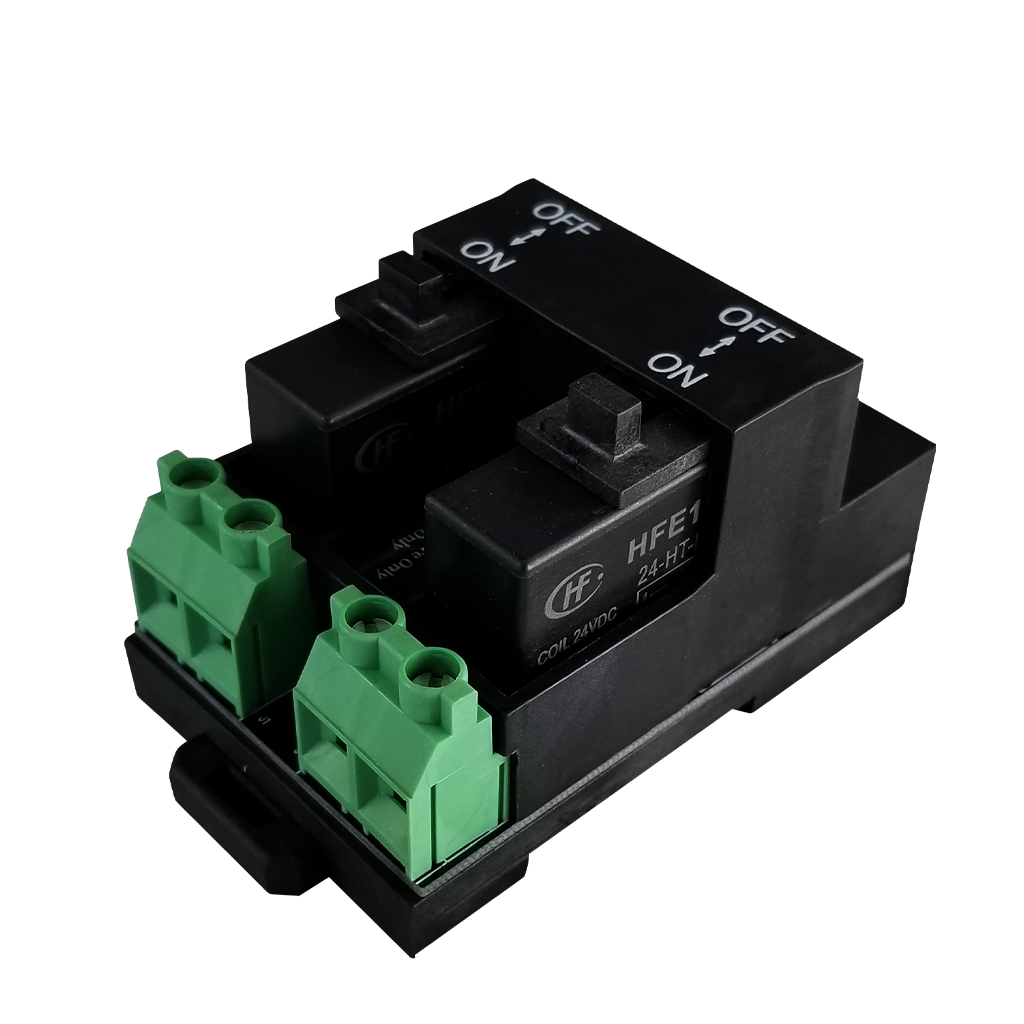 WCR-D30L Digital Relay | 20Aamp Latching Relay | ¾ View
