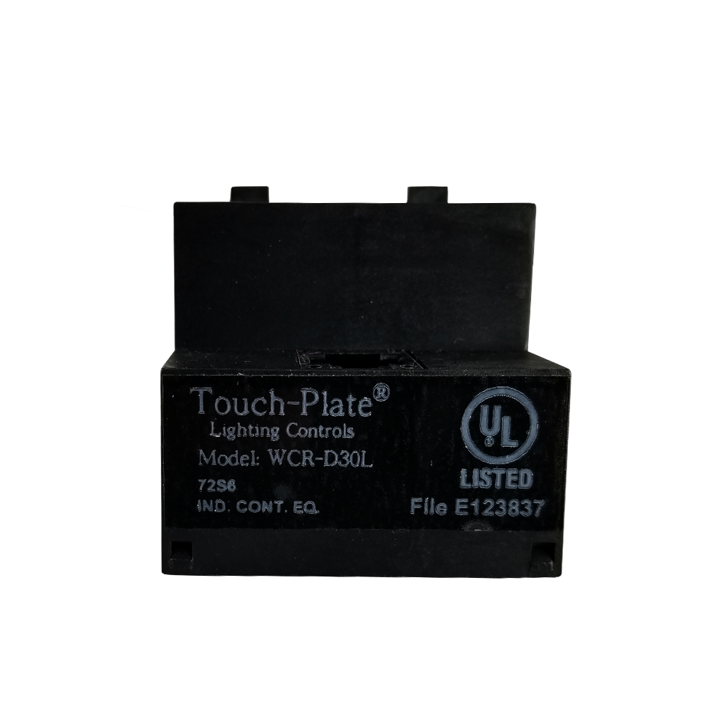 WCR-D30L Digital Relay | 20Aamp Latching Relay | Back View