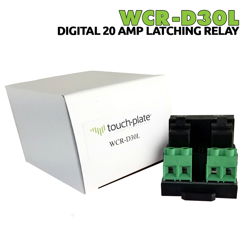 WCR-D30L Digital Relay | 20Aamp Latching Relay | Main