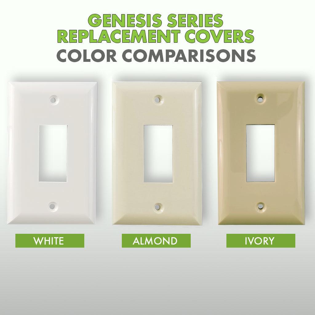 Genesis / Eclipse Series Replacement Cover | Color Comparison