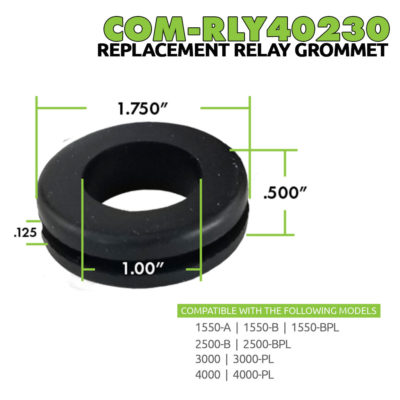 COM-RLY40230 | Rubber Grommet Replacement | Dimensions | Reference | Main