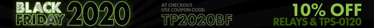 Black Friday 2020 | Coupon Code | Header Banner