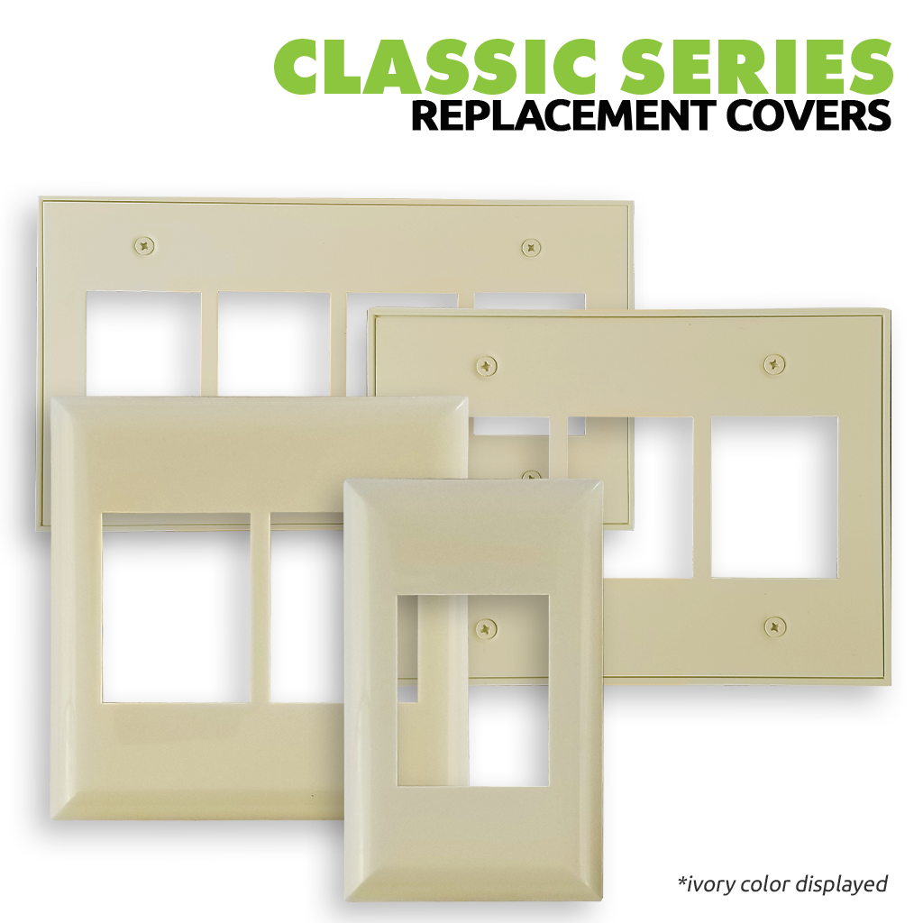 Classic Series Wall Switch | Cover Plate | Main Image