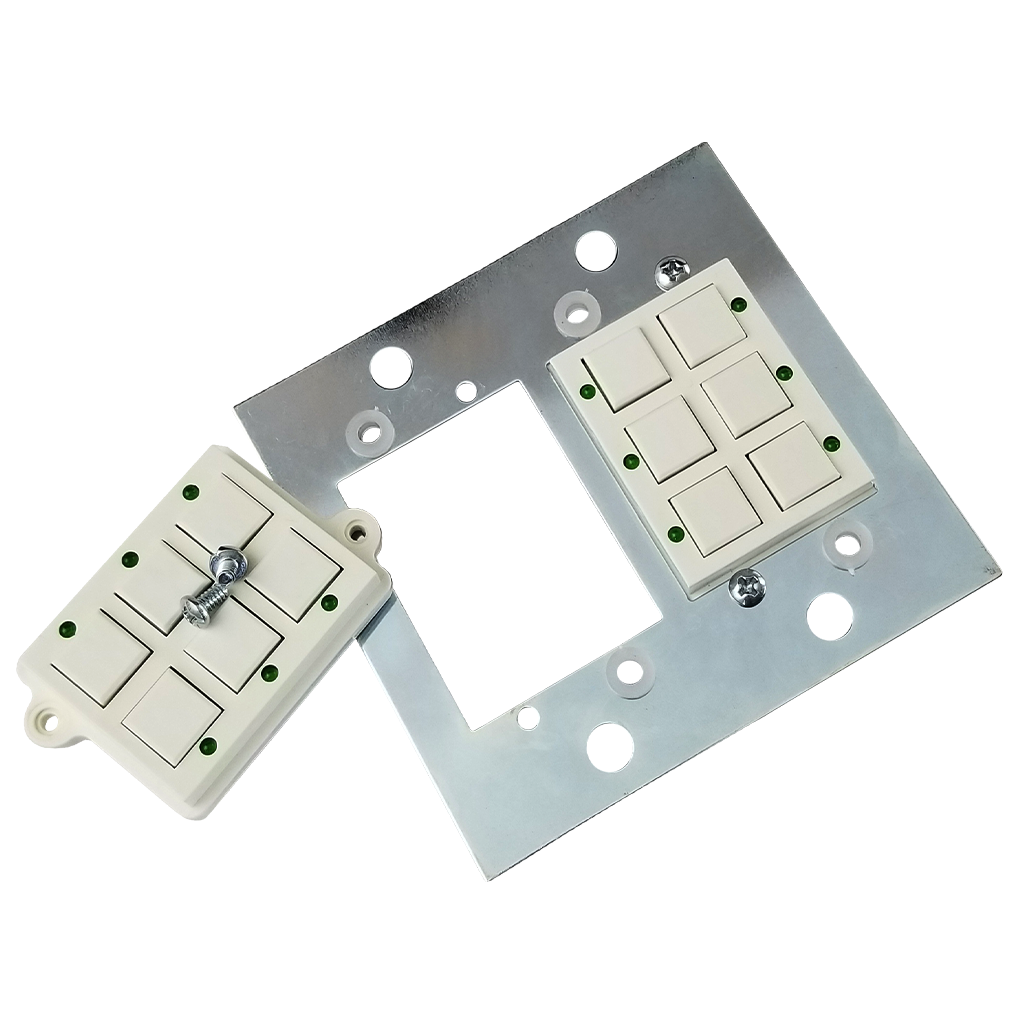 Classic Series Wall Switch | Low-voltage Contact Closure Switches | Block Out