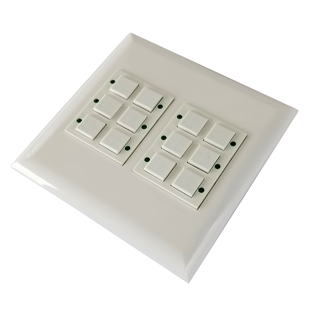 Classic Series Wall Switch   Low-voltage Contact Closure Switches   3/4 View