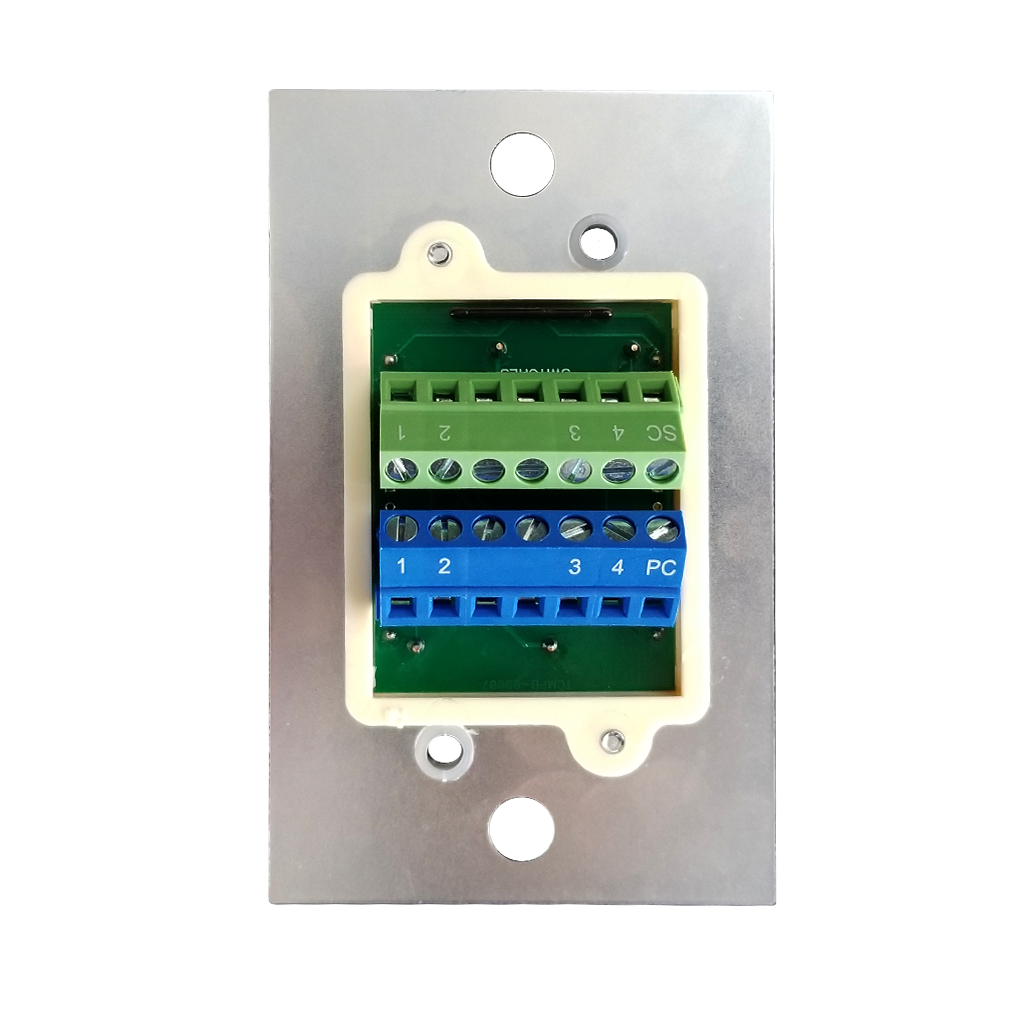 Classic Series Wall Switch | Low-voltage Contact Closure Switches | Back View