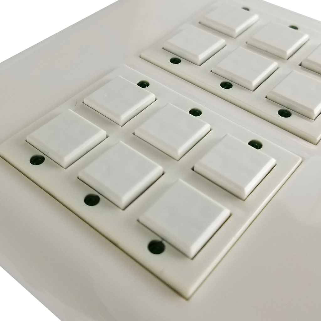Classic Series Wall Switch | Low-voltage Contact Closure Switches | Close-up