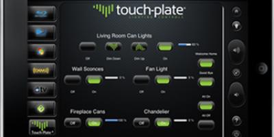 Tablet based lighting control